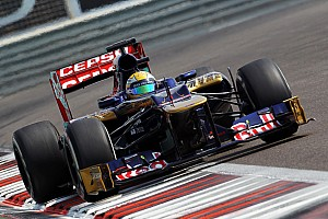 Formula 1 Testing report The Brazilian Razia test with the Scuderia Toro Rosso in Abu Dhabi