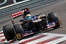 The Brazilian Razia test with the Scuderia Toro Rosso in Abu Dhabi