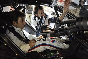 DTM Special feature Zanardi completes historic drive in golden BMW M3 DTM
