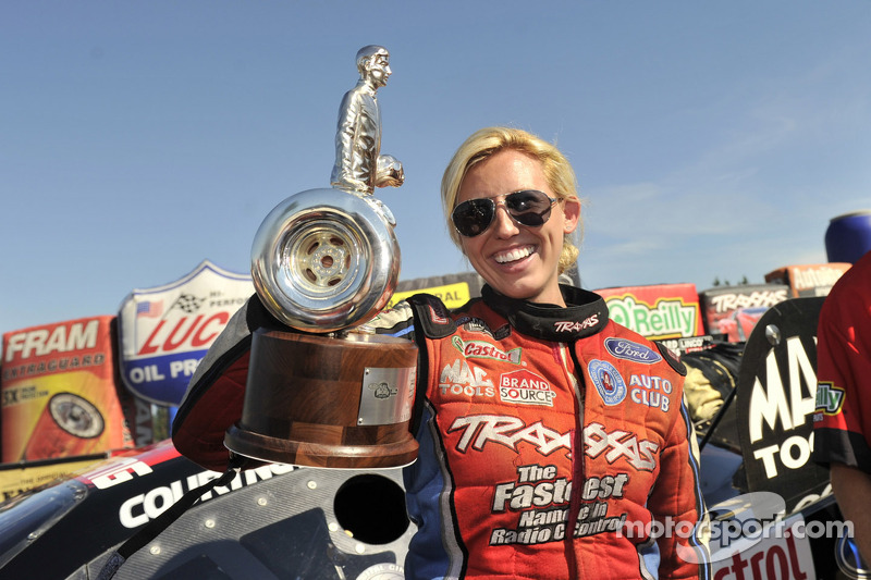 Courtney Force wins 2012 Road To The Future Award