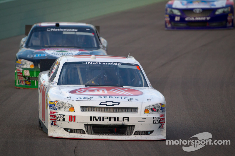Mike Wallace and Efland hampered by handling at Homestead finale