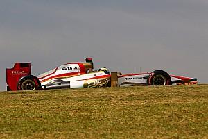 Formula 1 Practice report Teams test Pirelli's 2013 tyres practice 1 at São Paulo