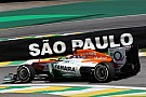 Sahara Force India shows competitive times on Friday at Interlagos