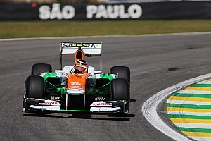 Formula 1 Qualifying report Sahara Force India continued to show strong form in São Paulo with top-10 qualifiying