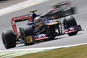 Formula 1 Race report Toro Rosso had a good day on final race of the season at Interlagos