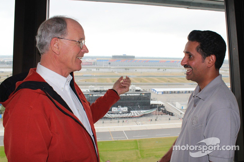 Bahrain executive meets GRAND-AM founder during behind-the-scenes tour