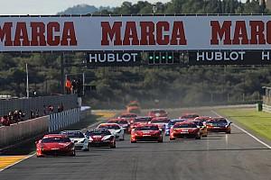 Ferrari Race report Valencia sees Balzan crowned European Trofeo Pirelli champion