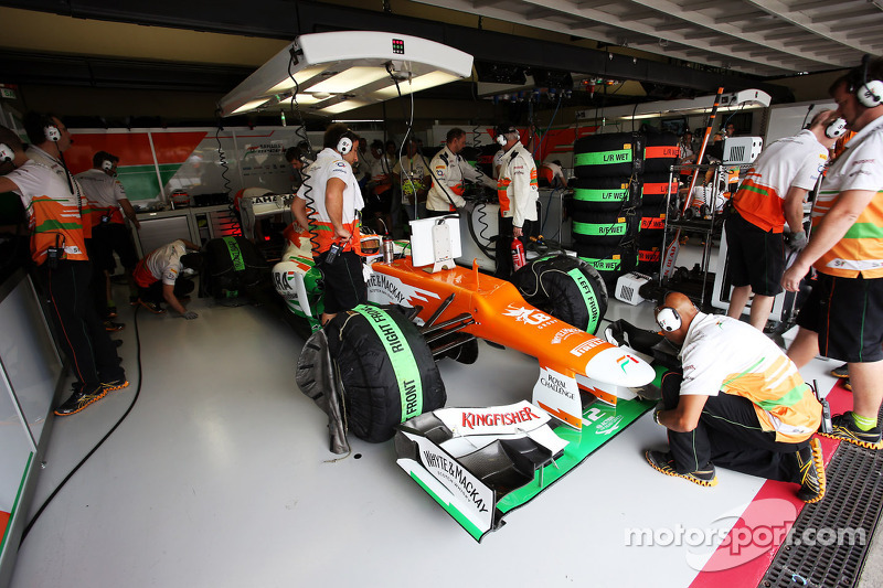 Force India to announce driver this week