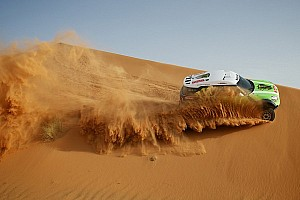 Dakar Breaking news X-raid with seven race vehicles for the 2013 event - video