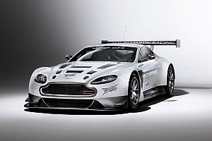 Grand-Am Testing report TRG-AMR SCC Vantage GT4 turns first laps in Daytona