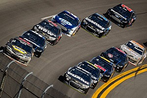NASCAR Cup Interview Earnhardt Jr. and Chevrolet drivers comment on Friday Daytona drafting crash