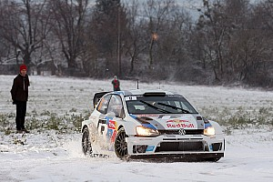"WRC Breaking news Maiden outing: successful ""Monte"" dress rehearsal for Volkswagen"
