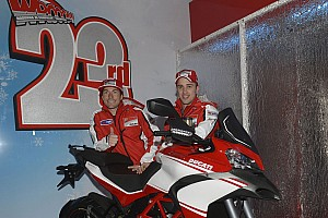 MotoGP Breaking news Ben Spies' new Pramac Racing Ducati Desmosedici GP13 unveiled