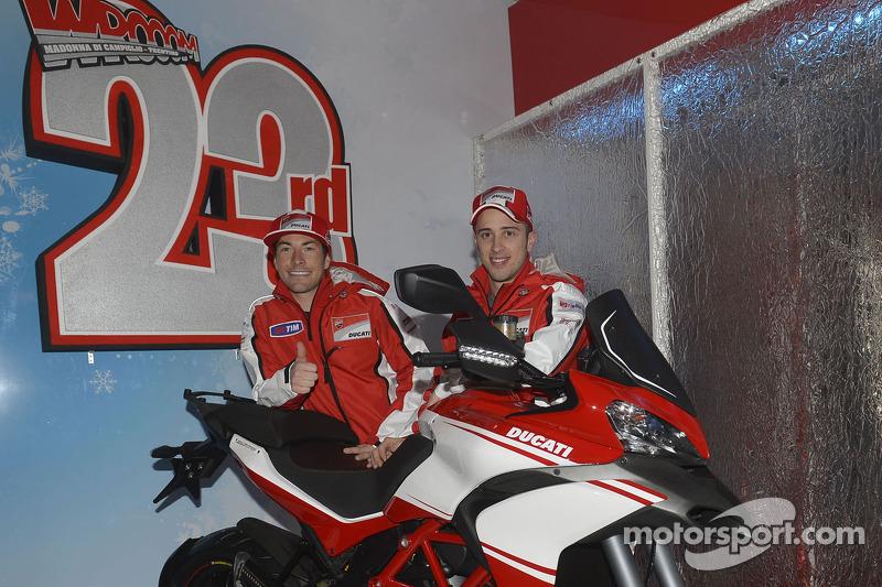 Ben Spies' new Pramac Racing Ducati Desmosedici GP13 unveiled