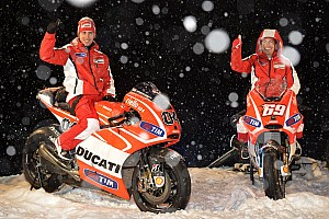MotoGP Breaking news High-altitude launch for Ducati Team at Madonna di Campiglio