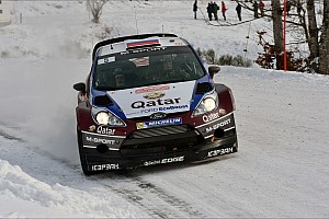 WRC Leg report Treacherous Monte conditions test Qatar M-Sport quartet on leg 1