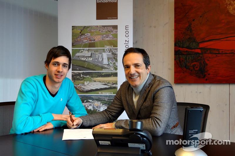 Rene Binder joins Venezuela GP Lazarus for this year's challenge
