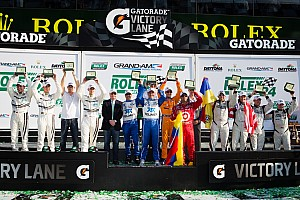 Grand-Am Race report Ganassi Team takes 51st Rolex 24; Pruett ties record with fifth overall victory