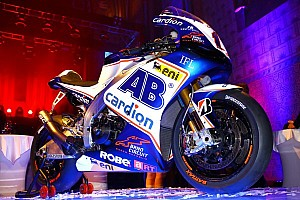 MotoGP Breaking news Cardion AB team unveils 2013 Aprilia ART in Prague