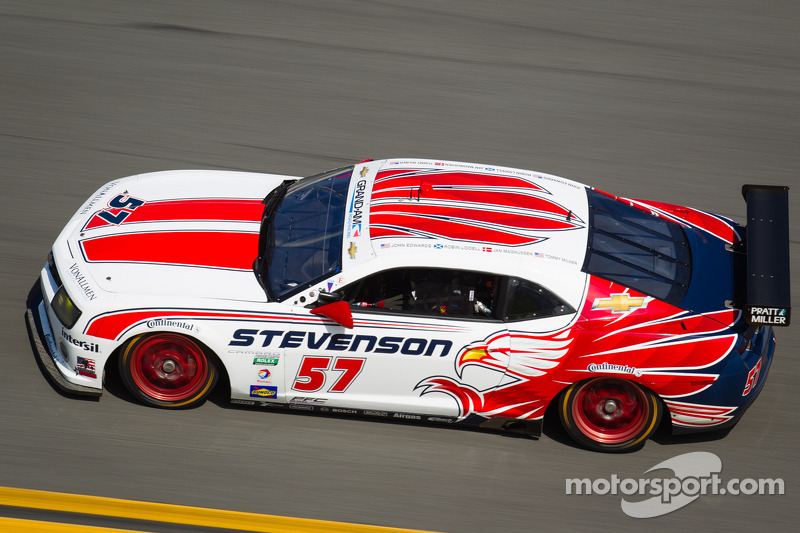 Long fight, early end for Stevenson Motorsports in Rolex 24 at Daytona