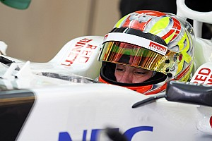 Formula 1 Breaking news Frijns disappointed with 2013 Sauber programme
