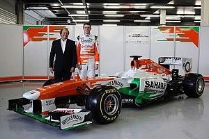 Formula 1 Breaking news Sahara Force India unveils the VJM06 at Silverstone