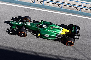 Formula 1 Breaking news Brighter Caterham sparks first controversy of 2013