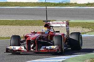 Formula 1 Testing report Ferrari's Massa happy with his testing on day three at Jerez