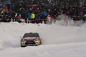 WRC Race report Citroen holds onto points lead at end of Swedish Rally