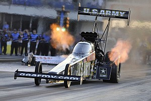 NHRA Qualifying report Schumacher, Beckman, Edwards fastest on Friday in Pomona