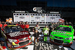 NASCAR Cup Qualifying report Patrick and Gordon make it an all Chevrolet front row for Daytona 500