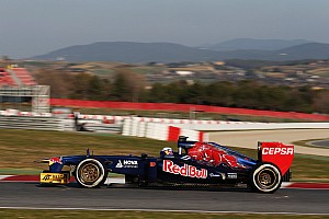 Formula 1 Testing report Ricciardo sastified with day 2 testing of STR8 in Barcelona
