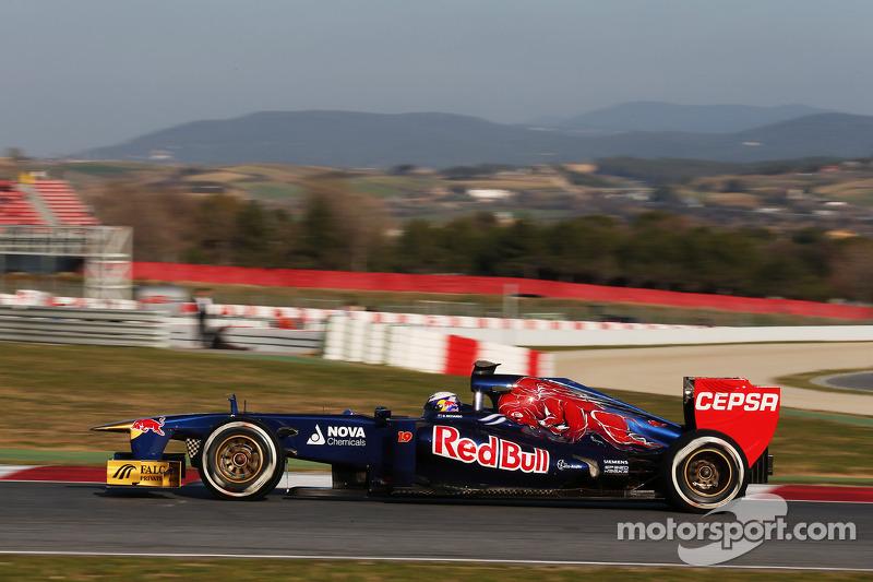 Ricciardo sastified with day 2 testing of STR8 in Barcelona