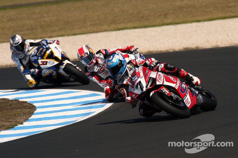 Unlucky day for Ducati Alstare at Phillip Island