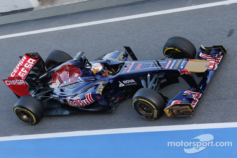 Toro Rosso completed a full race simulation on Day Three in Barcelona