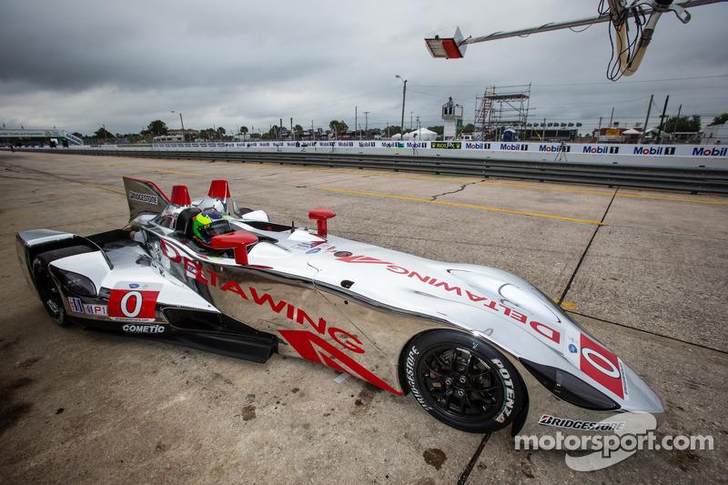 DeltaWing Racing Cars preps for Sebring