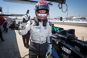 ALMS Qualifying report Briscoe leads 1-2 qualifying effort for HPD, Level 5 in Sebring