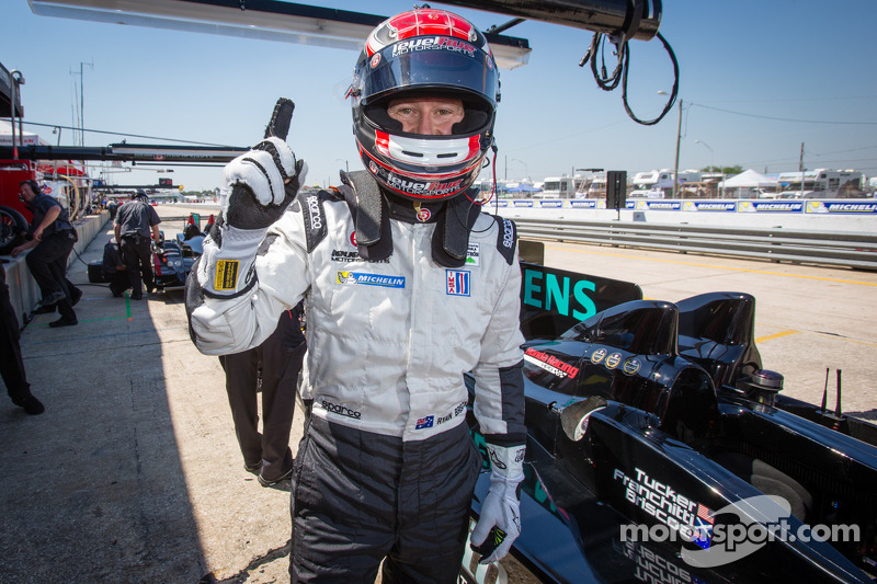 Briscoe leads 1-2 qualifying effort for HPD, Level 5 in Sebring