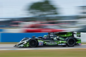 ALMS Qualifying report Brabham, van Overbeek qualified ESM's new P2 HPDs at Sebring