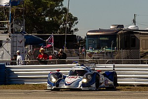 ALMS Race report Day time finish for Dyson Racing at Sebring