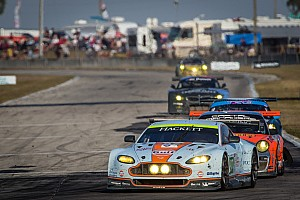 ALMS Race report Aston Martin takes eighth and ninth in GT class at Sebring
