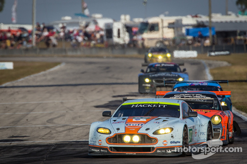 Aston Martin takes eighth and ninth in GT class at Sebring