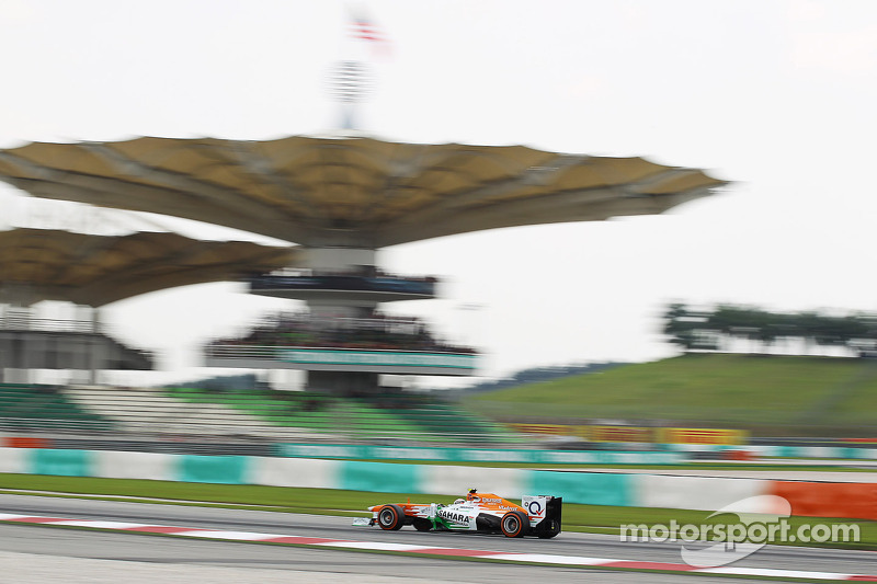 Sahara Force India prepared for qualifying after Friday practice in Malaysia