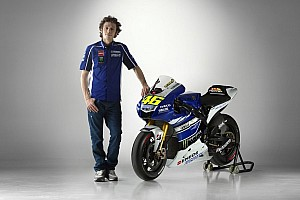 MotoGP Breaking news Yamaha Factory Racing launches 2013 livery