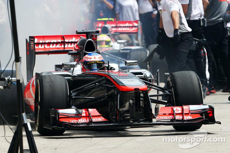 Upgrades improved McLaren car on Friday practice at Shanghai International Circuit