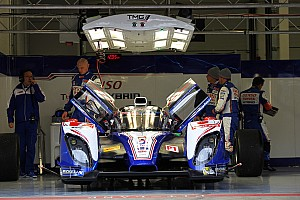 WEC Practice report Rain-affected start to the season for Toyota Racing in Silverstone