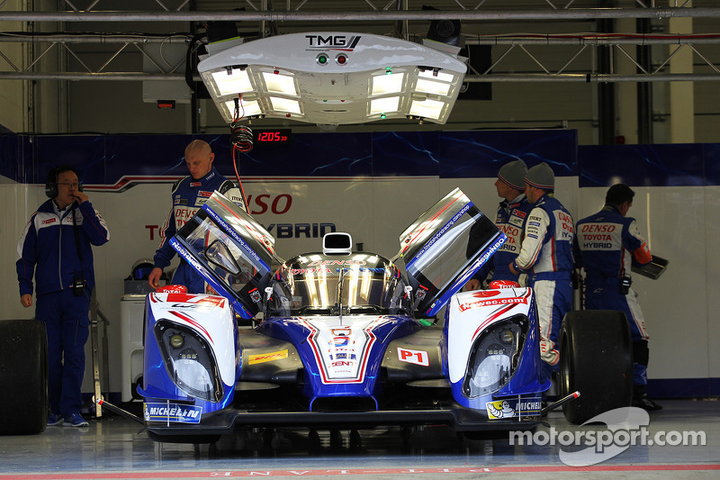 Rain-affected start to the season for Toyota Racing in Silverstone