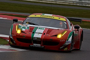 WEC Race report AF Corse's Kobayashi debut with a podium on the 6 Hours of Silverstone