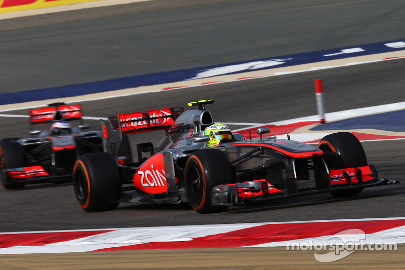McLaren tells Perez to keep 'spark' firing