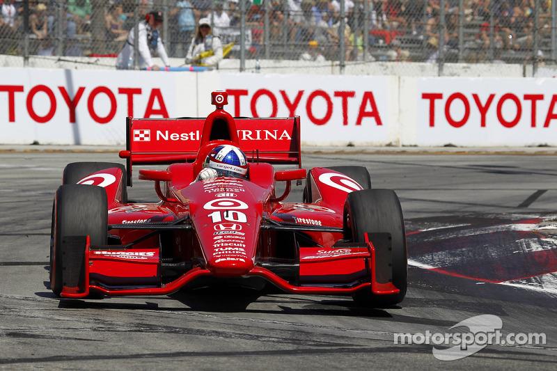 Franchitti fourth, Dixon 11th at Grand Prix of Long Beach